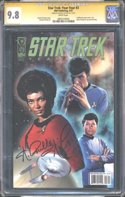 CGC Graded Comics - Star Trek: Year Four #3 (CGC) - Star - Year - Four - Trek - 3