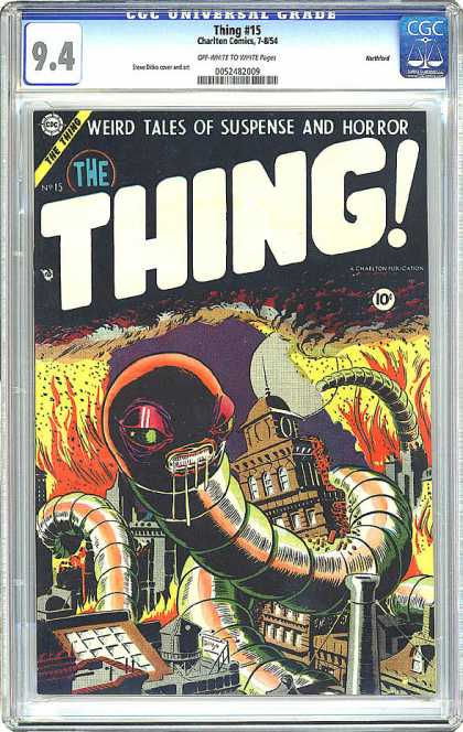 CGC Graded Comics - Thing #15 (CGC)