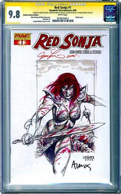 CGC Graded Comics - Red Sonja #1 (CGC)