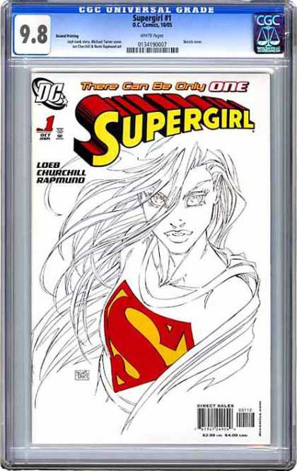 CGC Graded Comics - Supergirl #1 (CGC)