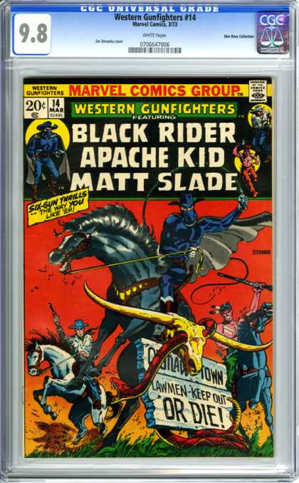 CGC Graded Comics - Western Gunfighters #14 (CGC)