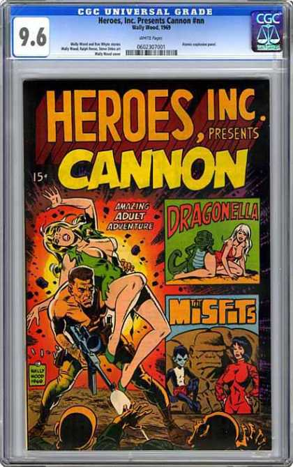 CGC Graded Comics - Heroes, Inc. Presents Cannon #nn (CGC)