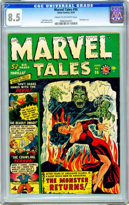CGC Graded Comics - Marvel Tales #96 (CGC)