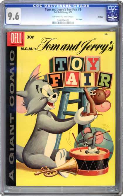 CGC Graded Comics - Tom and Jerry's Toy Fair #1 (CGC)