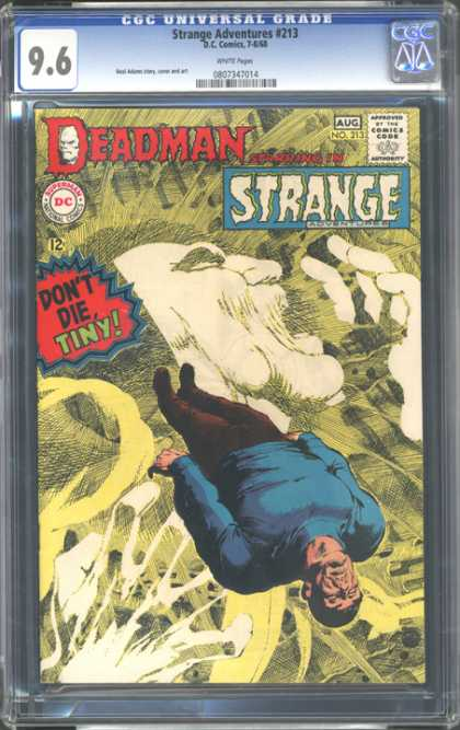 CGC Graded Comics - Strange Adventures #213 (CGC)