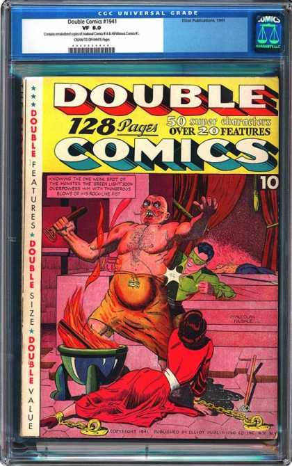 CGC Graded Comics - Double Comics #1941 (CGC)