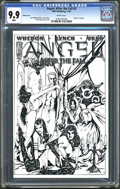 CGC Graded Comics - Angel: After the Fall #2 (CGC) - Angel - After The Fall 2 - Whedon - Lynch - Urru