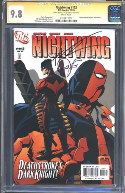 CGC Graded Comics - Nightwing #113 (CGC)