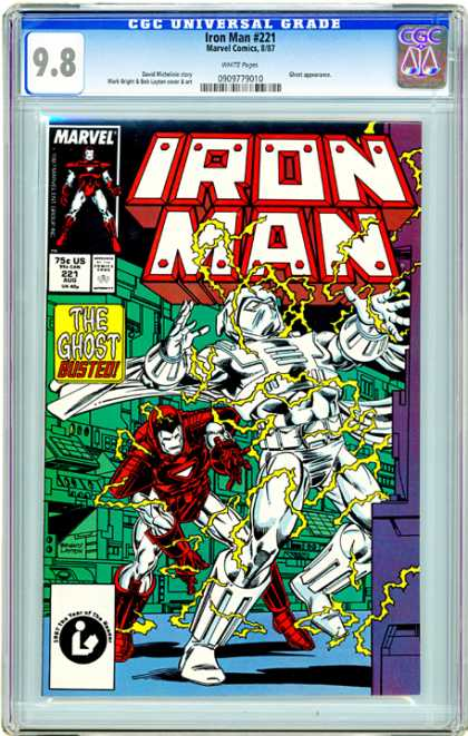 CGC Graded Comics - Iron Man #221 (CGC)