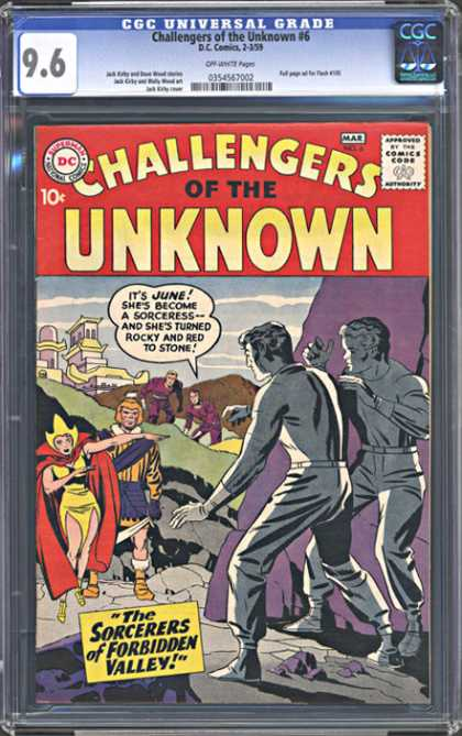 CGC Graded Comics - Challengers of the Unknown #6 (CGC)