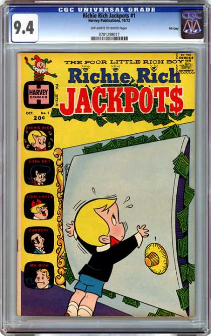 CGC Graded Comics - Richie Rich Jackpots #1 (CGC)