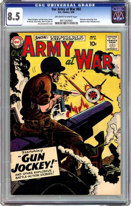 CGC Graded Comics - Our Army at War #82 (CGC)