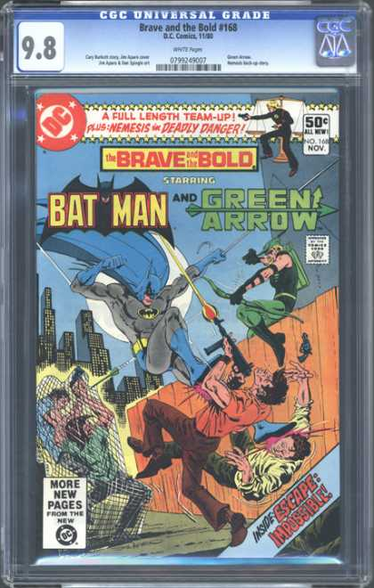 CGC Graded Comics - Brave and the Bold #168 (CGC)
