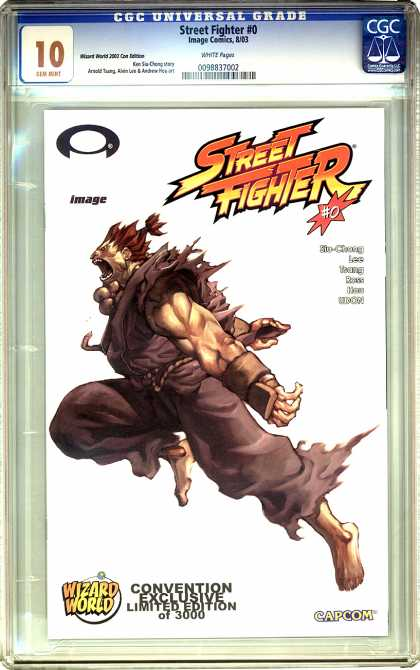 CGC Graded Comics - Street Fighter #0 (CGC) - Street Fighter - Wizard World - Capcom - Limited Edition - Convention Exclusive