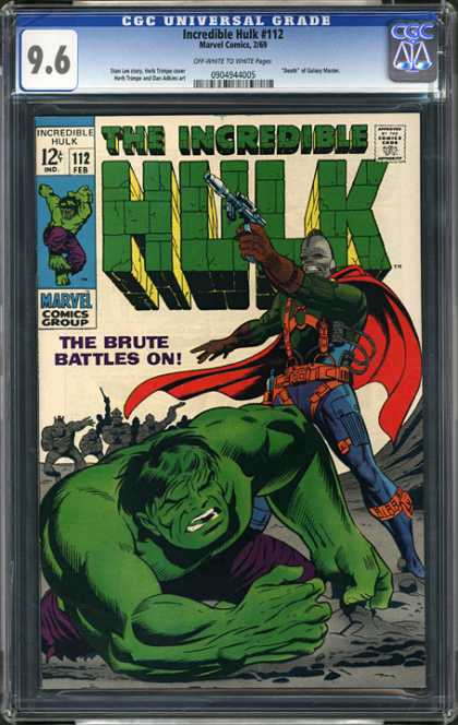 CGC Graded Comics - Incredible Hulk #112 (CGC)