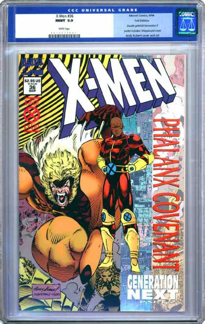CGC Graded Comics - X-Men #36 (CGC)