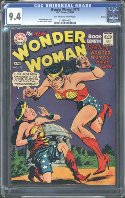 CGC Graded Comics - Wonder Woman #175 (CGC)