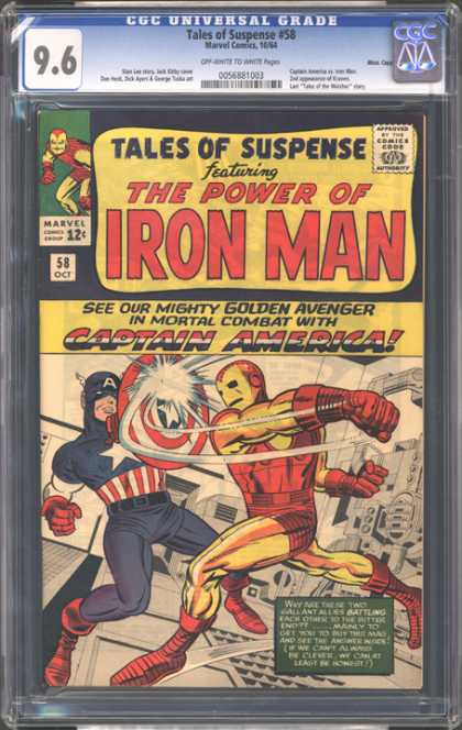 CGC Graded Comics - Tales of Suspense #58 (CGC)