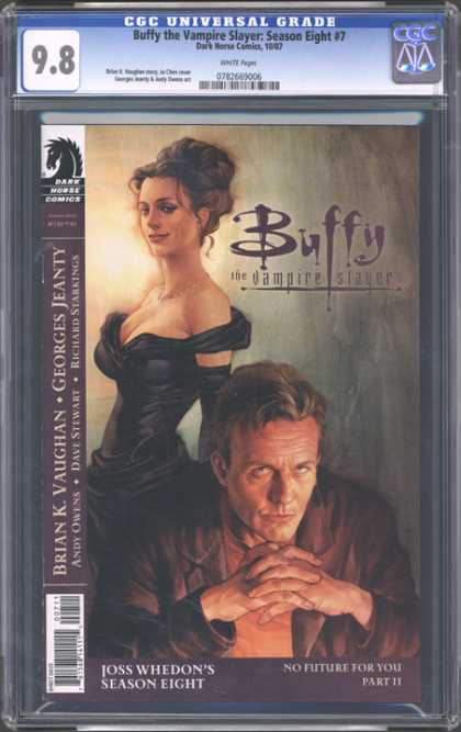 CGC Graded Comics - Buffy the Vampire Slayer Season Eight #7 (CGC)