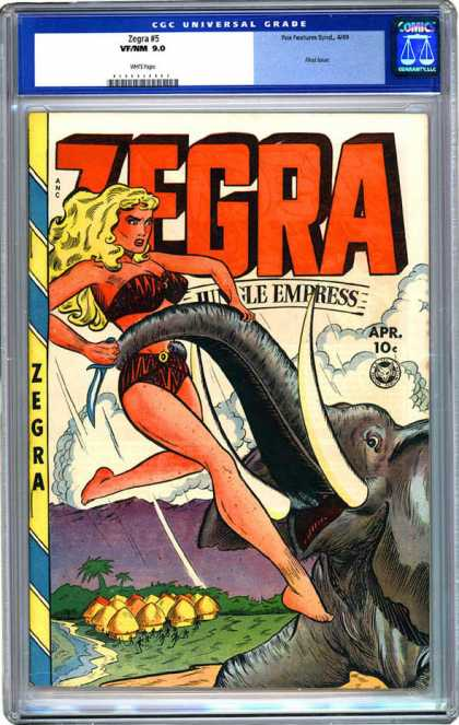 CGC Graded Comics - Zegra #5 (CGC)