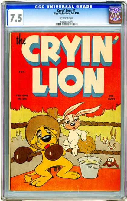 CGC Graded Comics - Cryin' Lion #1 (CGC)
