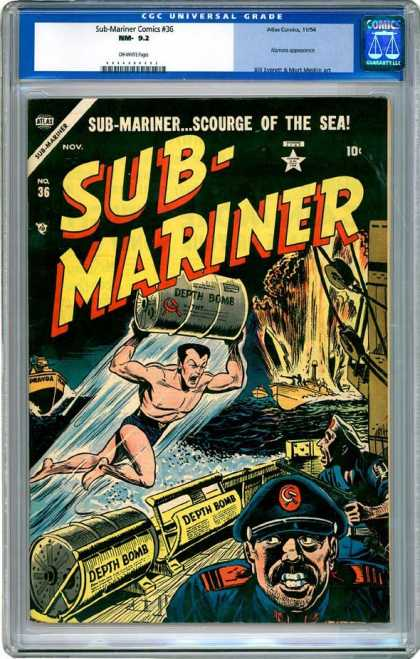 CGC Graded Comics - Sub-Mariner Comics #36 (CGC)