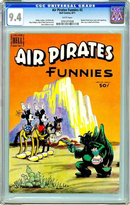 CGC Graded Comics - Air Pirates Funnies #2 (CGC)