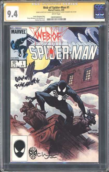CGC Graded Comics - Web of Spider-Man #1 (CGC)