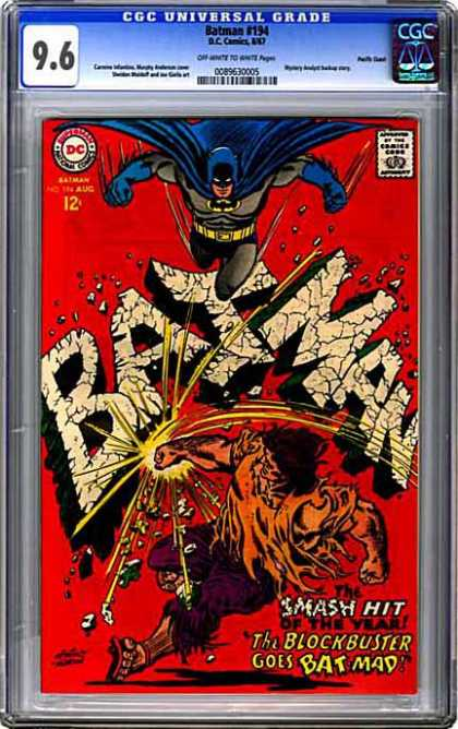CGC Graded Comics - Batman #194 (CGC)