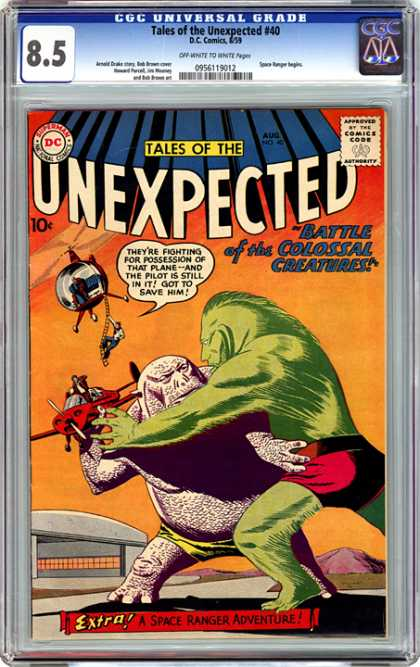 CGC Graded Comics - Tales of the Unexpected #40 (CGC)