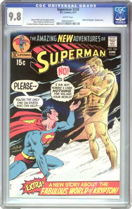CGC Graded Comics - Superman #238 (CGC)