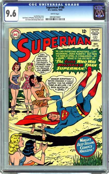CGC Graded Comics - Superman #180 (CGC)