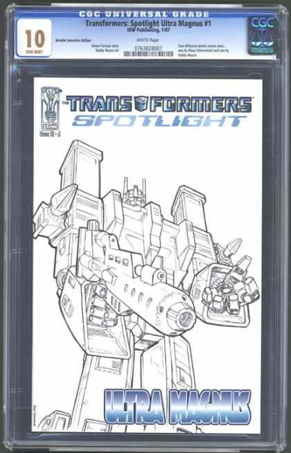 CGC Graded Comics - Transformers: Spotlight Ultra Magnus #1 (CGC)
