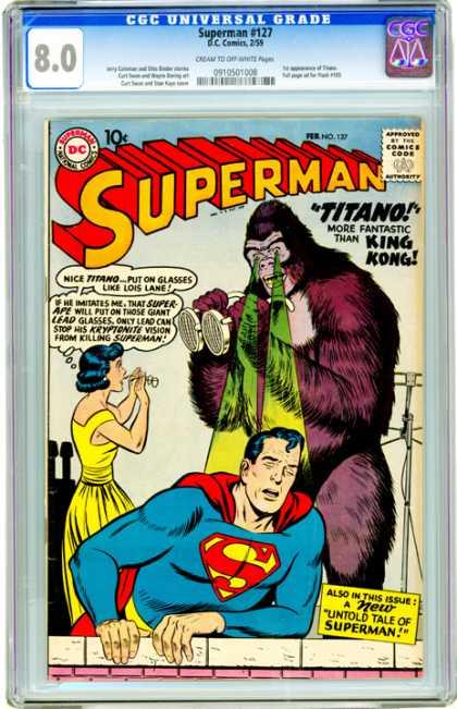 CGC Graded Comics - Superman #127 (CGC)