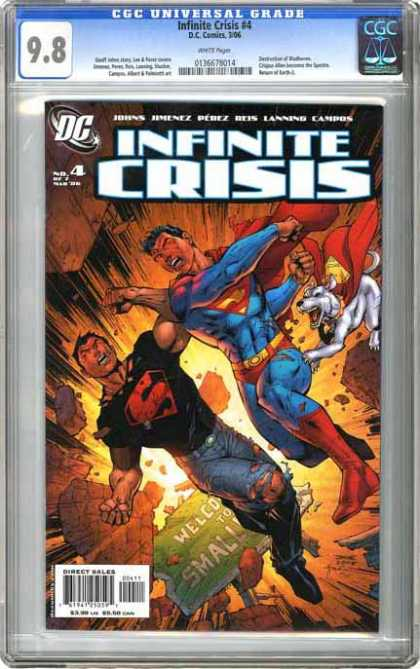 CGC Graded Comics - Infinite Crisis #4 (CGC)