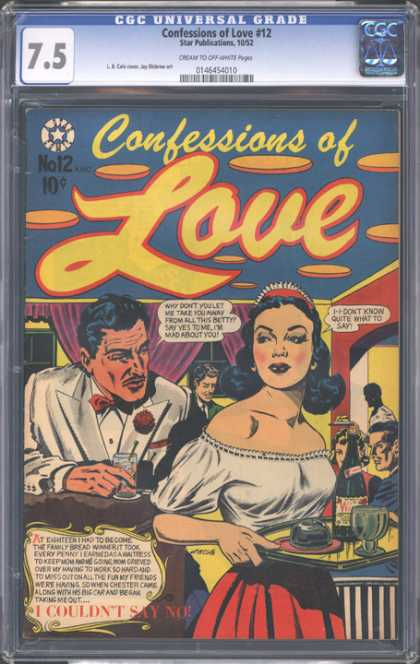CGC Graded Comics - Confessions of Love #12 (CGC)