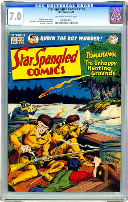 CGC Graded Comics - Star Spangled Comics #105 (CGC)