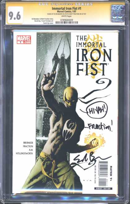 CGC Graded Comics - Immortal Iron Fist #1 (CGC)