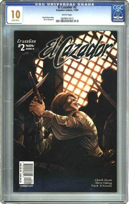CGC Graded Comics - El Cazador #2 (CGC) - Crossgen - El Cazador - Lattice - November - Chuck Dixon