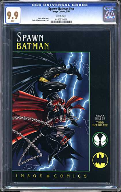 CGC Graded Comics - Spawn Batman #nn (CGC)