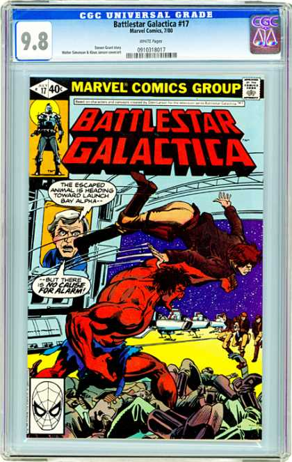 CGC Graded Comics - Battlestar Galactica #17 (CGC)