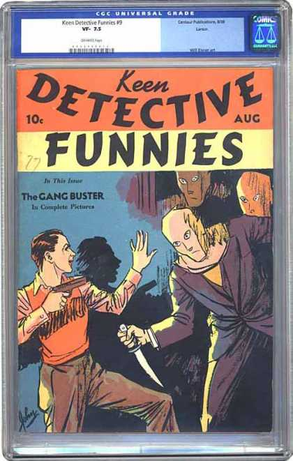 CGC Graded Comics - Keen Detective Funnies #9 (CGC)