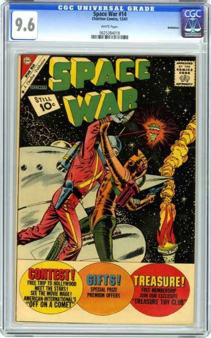 CGC Graded Comics - Space War #14 (CGC)