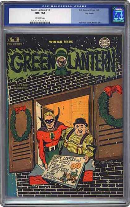 CGC Graded Comics - Green Lantern #18 (CGC)