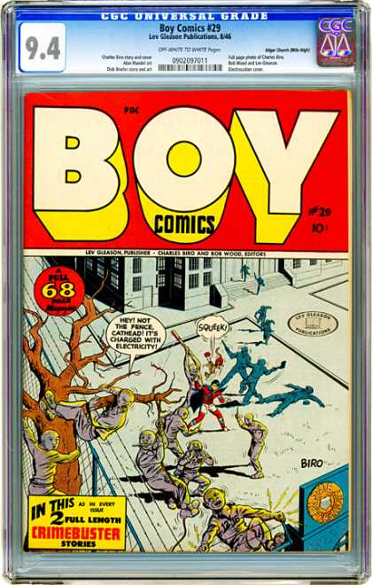 CGC Graded Comics - Boy Comics #29 (CGC)