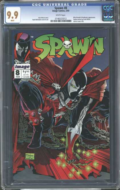 CGC Graded Comics - Spawn #8 (CGC)