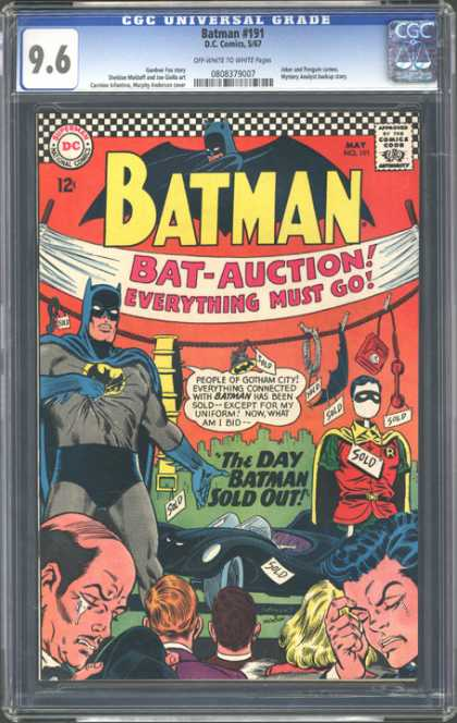 CGC Graded Comics - Batman #191 (CGC)
