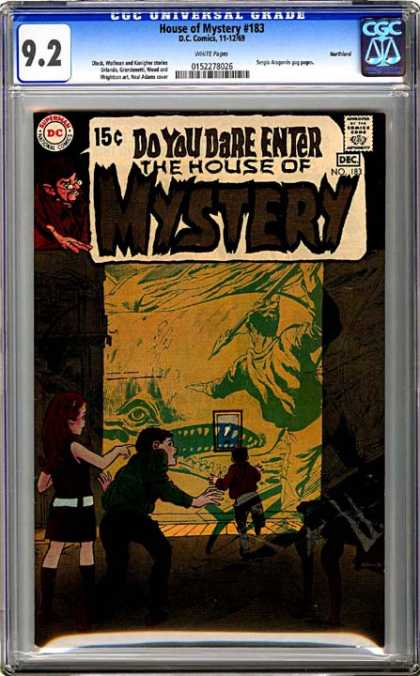 CGC Graded Comics - House of Mystery #183 (CGC)