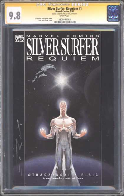 CGC Graded Comics - Silver Surfer: Requiem #1 (CGC)