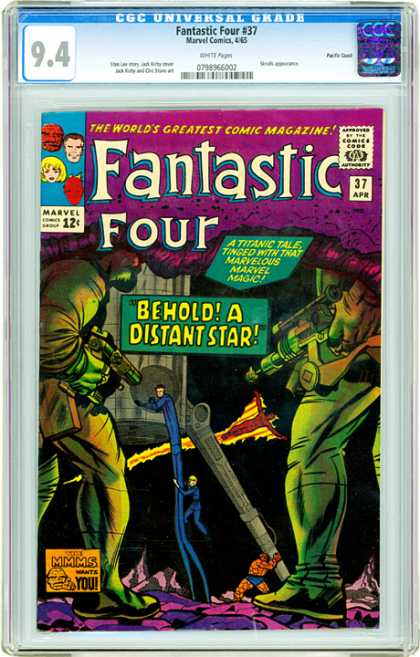 CGC Graded Comics - Fantastic Four #37 (CGC)